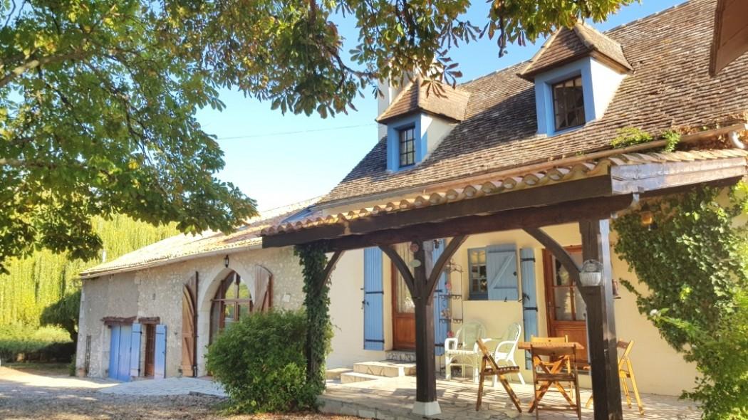 Les Deux Marronniers Farmhouse.